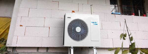 Термопомпа въздух-вода за отопление