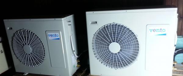 Отопление на 2 къщи с Термопомпа HP1F20