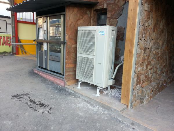Отопление с Термопомпа 18kW