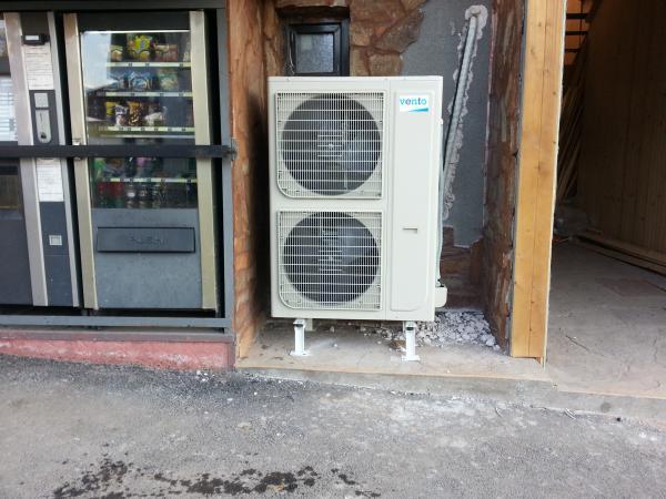 Отопление с Термопомпа 18kW 2