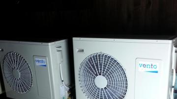 Отопление на 2 къщи с Термопомпа HP1F20 2