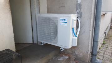 Отопление с 12kW Термопомпа VENTO HP1F12 DC Inverter